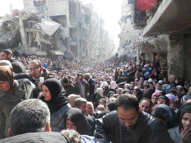 ألمانيا تعتقل سوريا يشتبه أنه وراء إطلاق قذيفة على مخيم للاجئين قرب دمشق