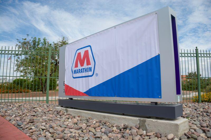 Marathon Petroleum expects lower quarterly throughput on fuel demand woes