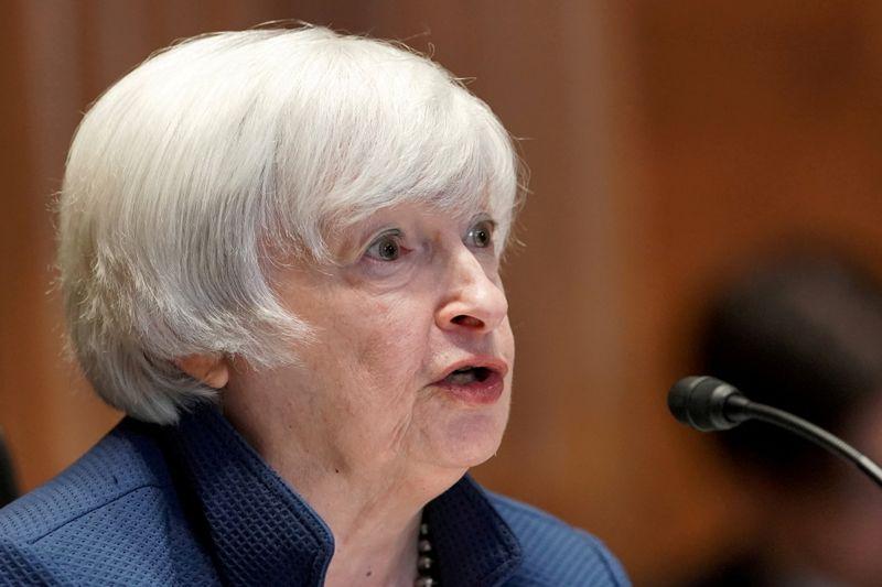 イエレン氏、インフラ法案可決呼び掛け 年内にインフレ低下へ
