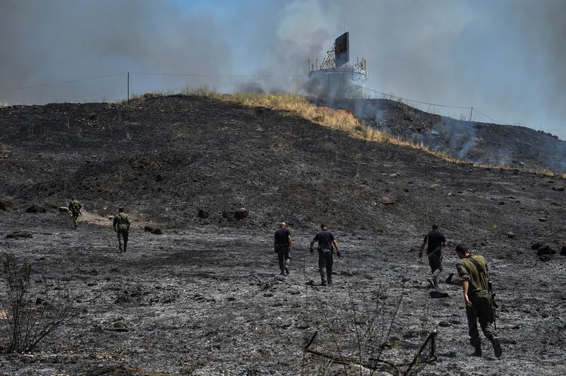 Frappes aériennes israéliennes contre le Liban après des tirs de roquettes