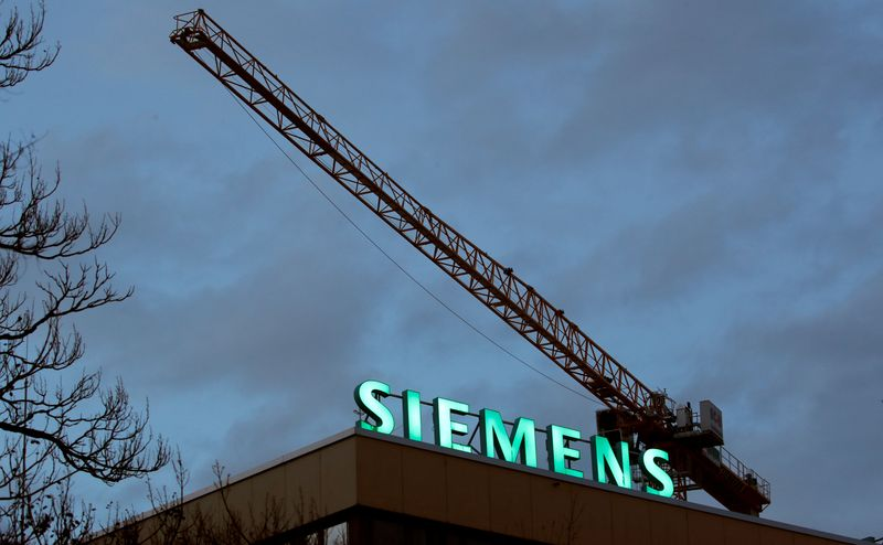 Siemens снова улучшила прогнозы на фоне роста заказов