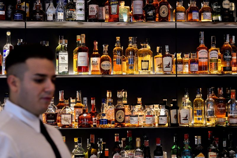 Drinks makers target high-end spirits for post-COVID growth