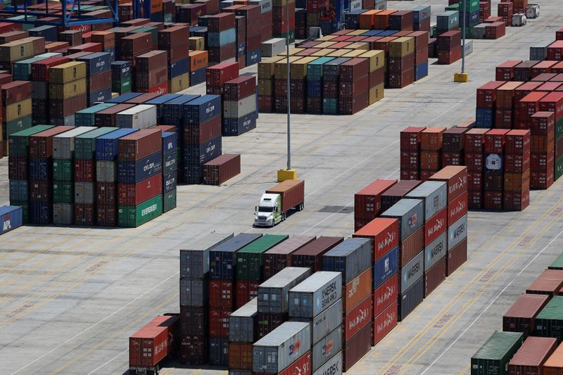 China-U.S. container shipping rates sail past $20,000 to record