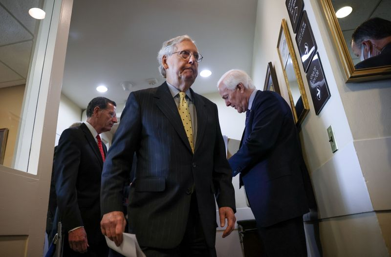 Democrats should raise U.S. debt ceiling on their own -McConnell