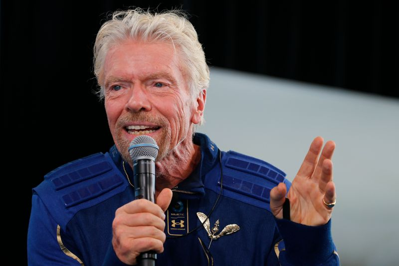 Branson's Virgin Galactic to sell space flight tickets starting at $450,000