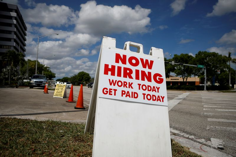 U.S. labor market powers ahead with strong job gains, lower unemployment rate