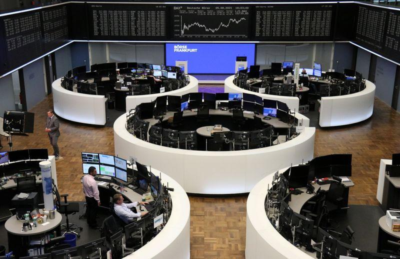 Stellar earnings fuel European stocks to best week in nearly 5 months