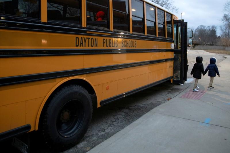 U.S. teachers' union shifts stance to back vaccine mandate as COVID surges