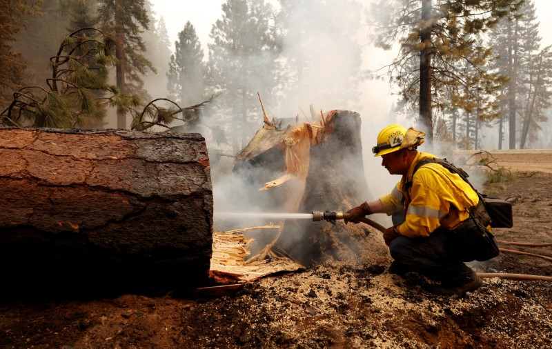 Dixie Fire, still raging, is now California's second-largest wildfire ever