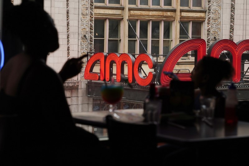AMC posts upbeat results as people return to theaters