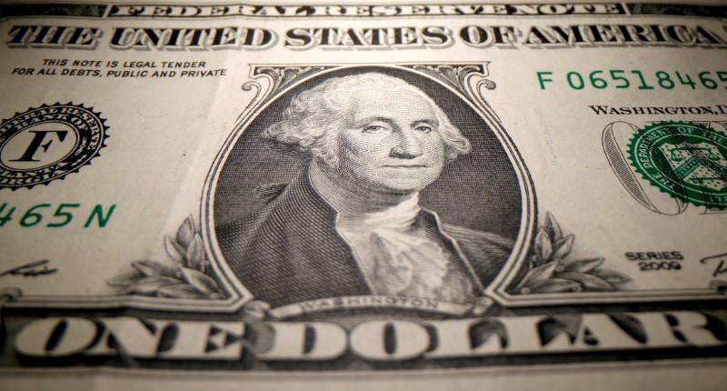 Dollar falls as U.S. consumer price rises temper in July, data show