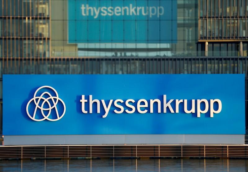 Thyssenkrupp dégage un bénéfice au troisième trimestre