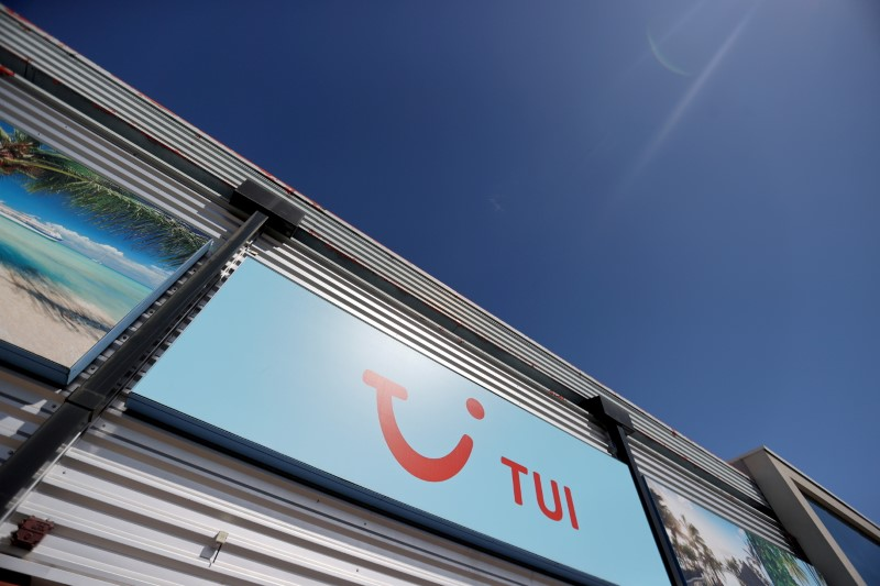 Holiday company TUI says German booking surge leads recovery