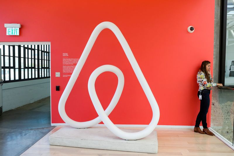 Airbnb warns of Delta impact on bookings, shares fall over 4%