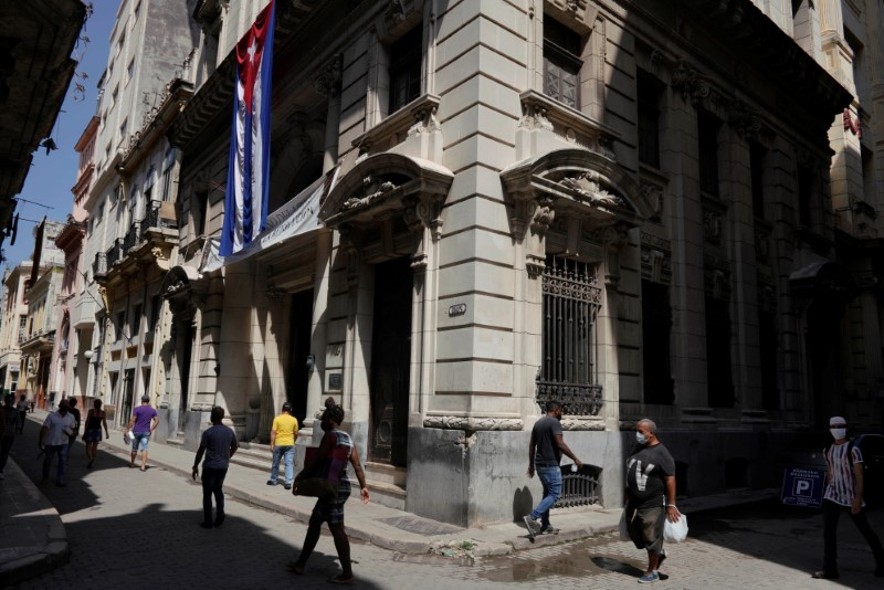 U.S. imposes sanctions on Cuban officials, military unit over violence