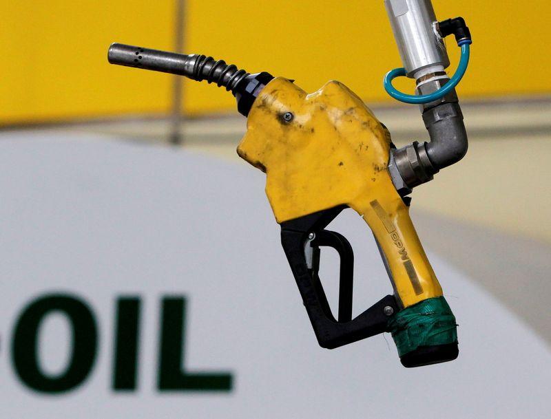 Oil falls as Delta surge clouds fuel demand outlook