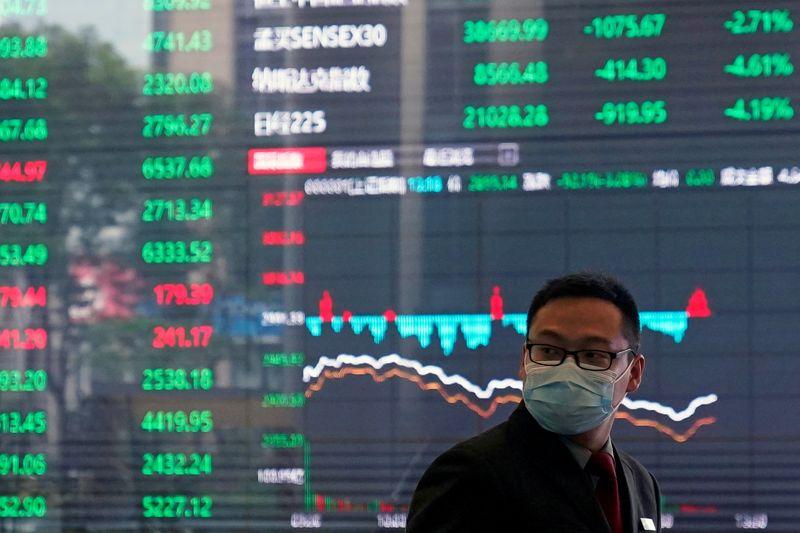 BOLSA ÁSIA-Ações da China têm maior queda em 3 semanas em meio a crise econômica e nova repressão a tecnologia