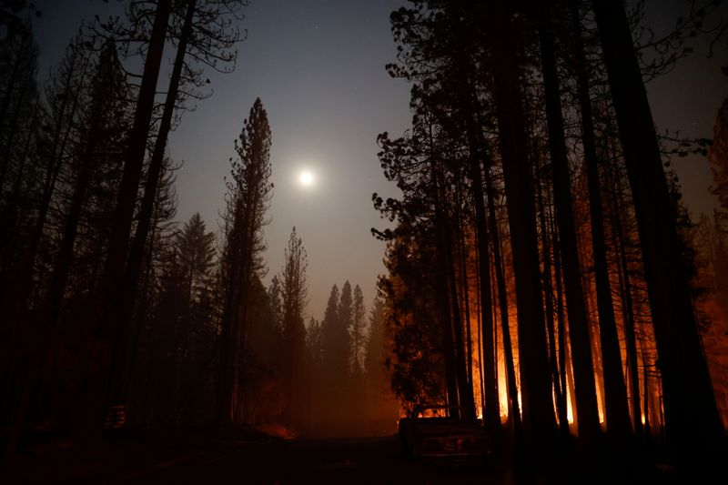 Strong gusts, arid conditions stoke growing California wildfires