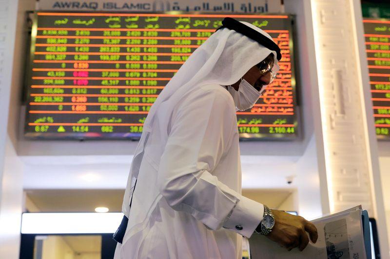 تراجع معظم بورصات الخليج الرئيسية بفعل محضر الاتحادي ومخاوف الفيروس
