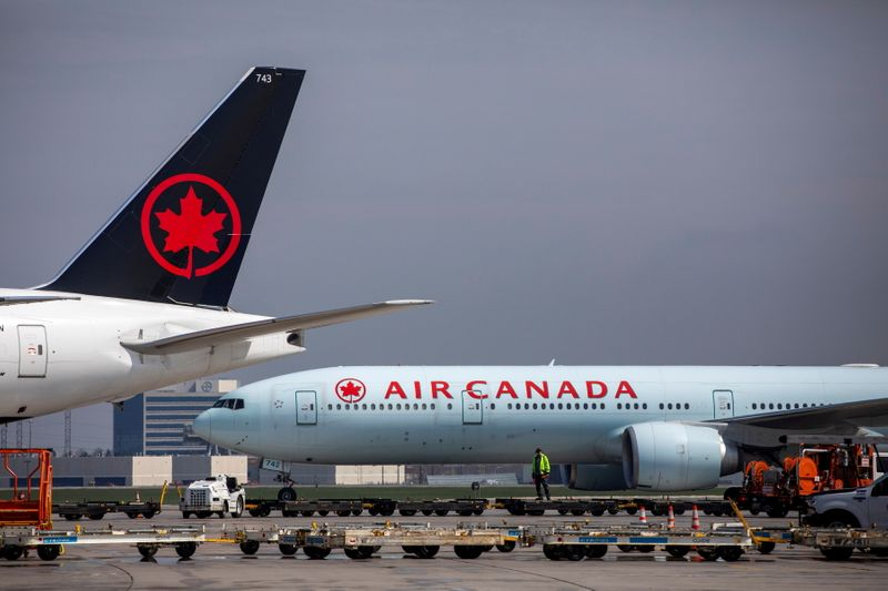 Air Canada sees cargo advantage in Toronto hub as shippers avoid U.S. crunch