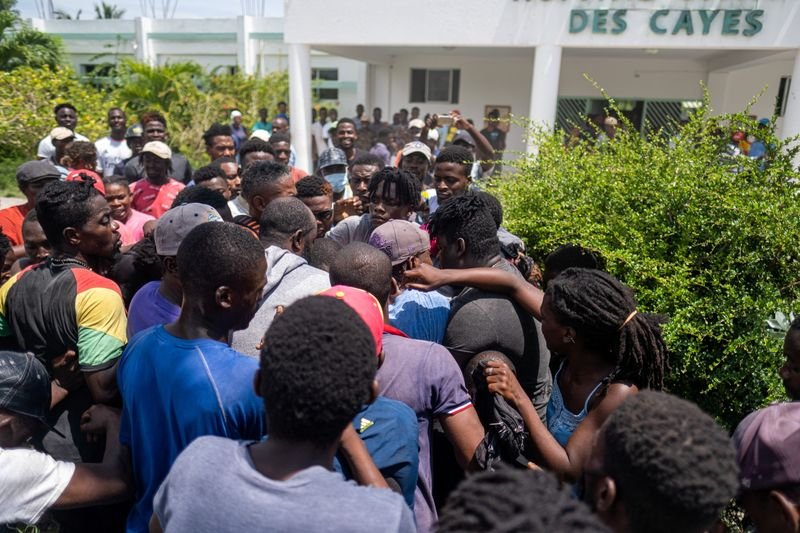 Haiti faces anger and despair a week after quake, stirring security fears