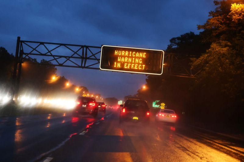 Hurricane Henri's outer bands reach U.S. Northeast coast