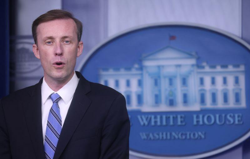 U.S. adviser Sullivan says has not heard Biden discuss any firings over Afghanistan