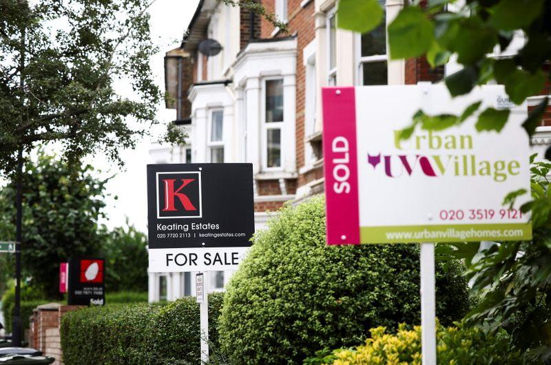 UK property sales halve after surging to beat tax break deadline