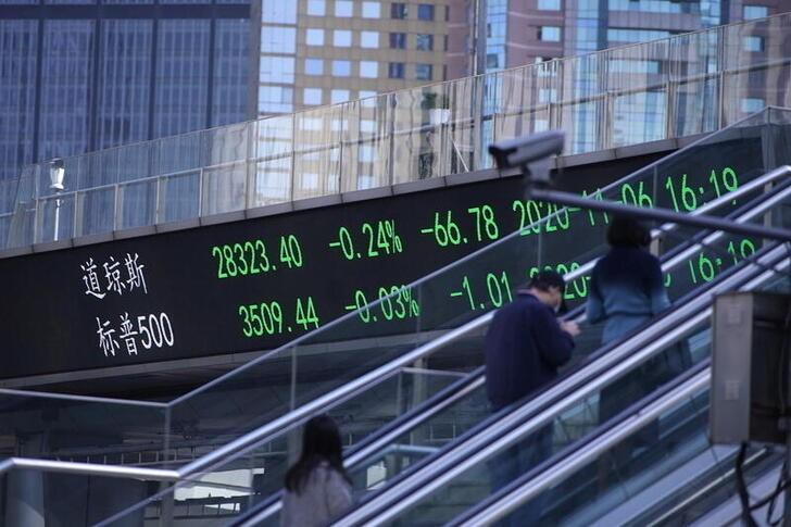 BOLSA ÁSIA-Ações da China fecham em alta após BC prometer mais suporte ao crédito