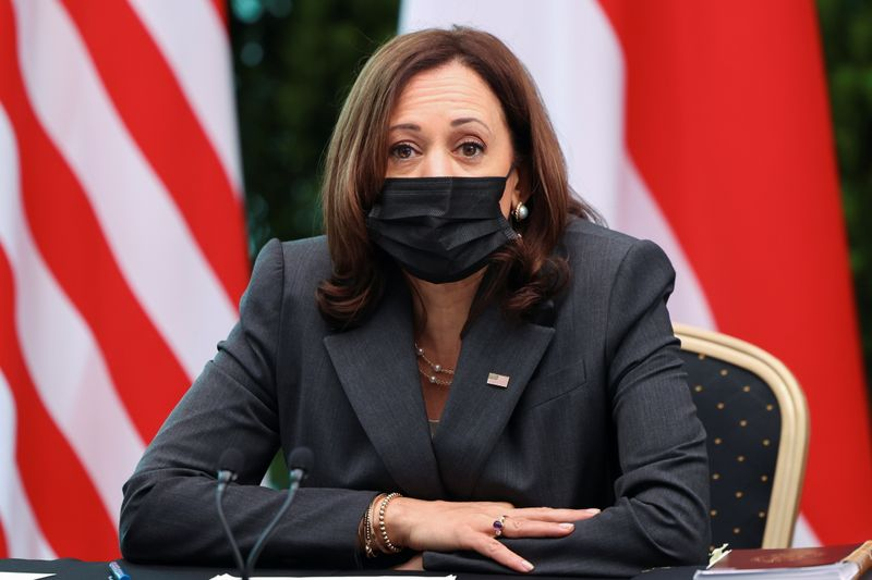 U.S. VP Harris forges on with Vietnam trip despite mystery 'health incident'