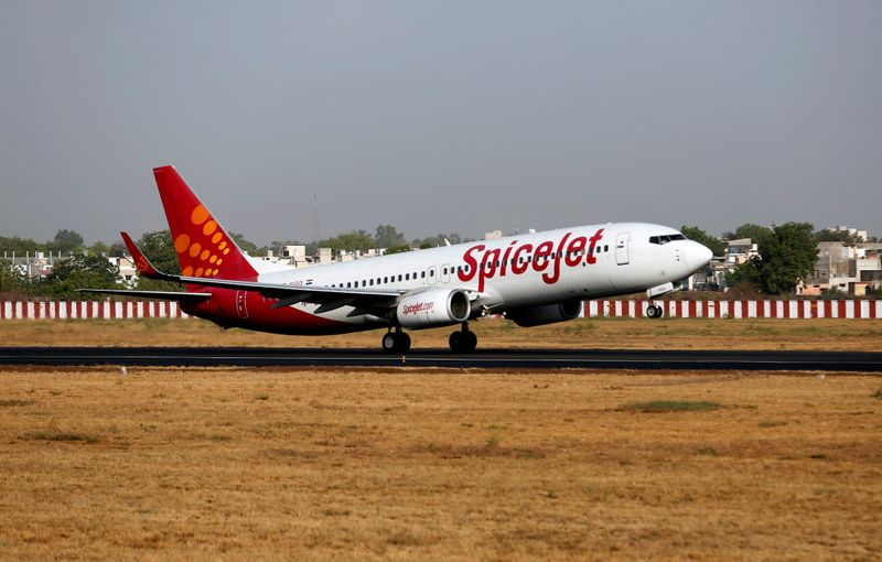 India's SpiceJet expects to restart Boeing MAX service by next month