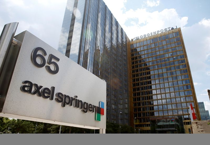 German publisher Axel Springer to acquire U.S. news website Politico