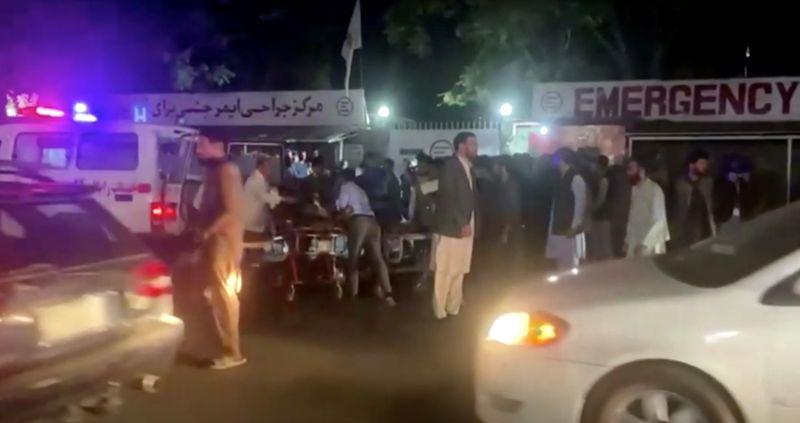 'I saw doomsday', says Kabul airport blast survivor