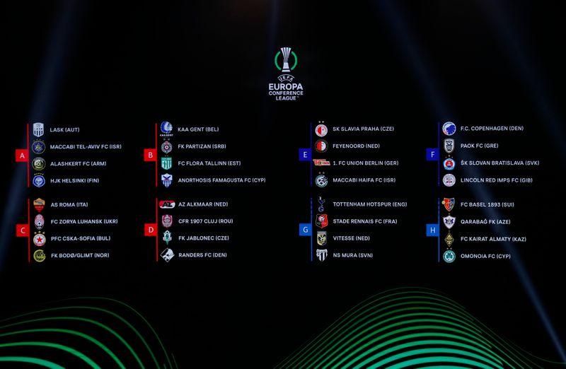 Após sorteio, Leicester enfrenta Napoli; West Ham encara Genk na Liga Europa
