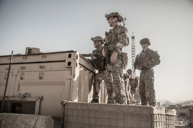U.S. starts troop withdrawal from Kabul; hits Islamic State with drone attack