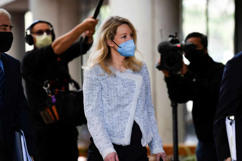 Theranos founder claims abuse by ex-boyfriend in fraud trial -court filings