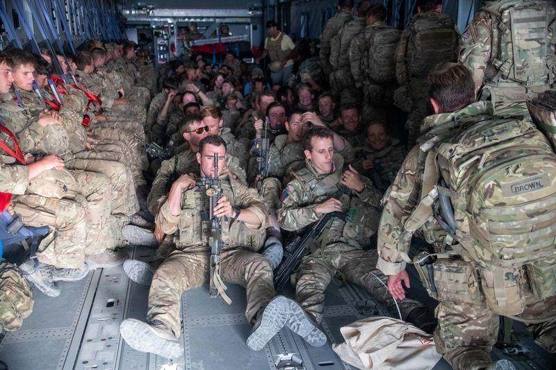 Last UK military flight leaves Afghanistan after evacuating 15,000 people