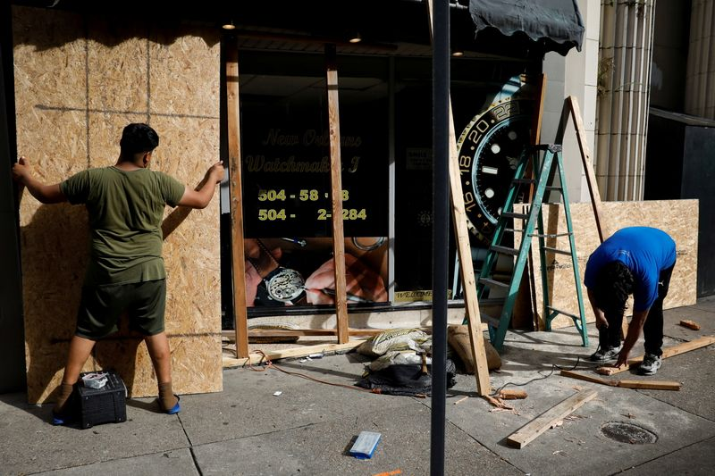 Louisiana braces for 'powerful and dangerous' Hurricane Ida