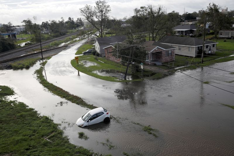 'I need help': Louisiana man rides out Storm Ida in destroyed home