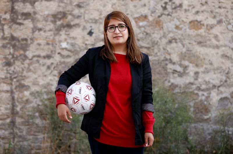 No future for women like me, says exiled Afghan soccer player