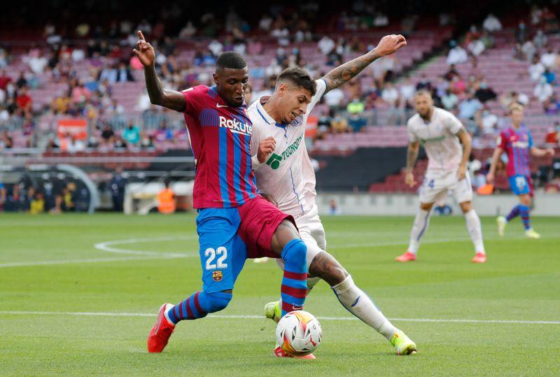 Tottenham compra lateral direito Emerson do Barcelona