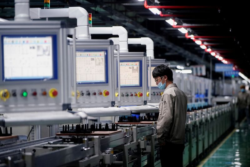 China's factory activity contracts for first time since April 2020