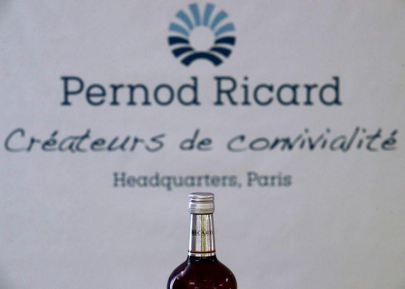 Pernod confident on sales momentum as US, China lift profits