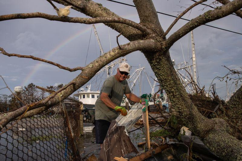 Insurers may take $18 billion hit from Hurricane Ida - industry experts