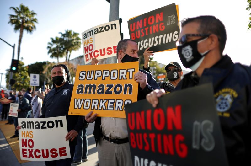Amazon's new union battle: Teamsters go local to snarl expansion