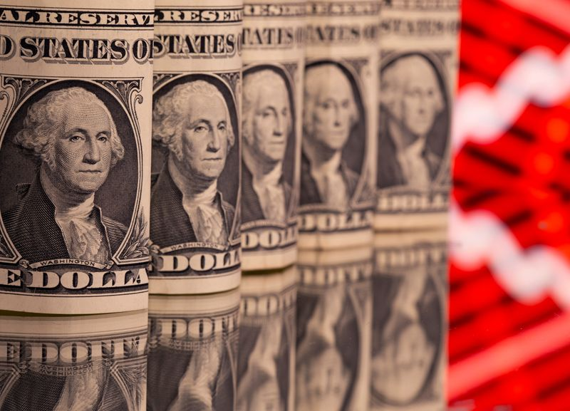 Dollar lower after initial jobless claims data with payrolls on tap
