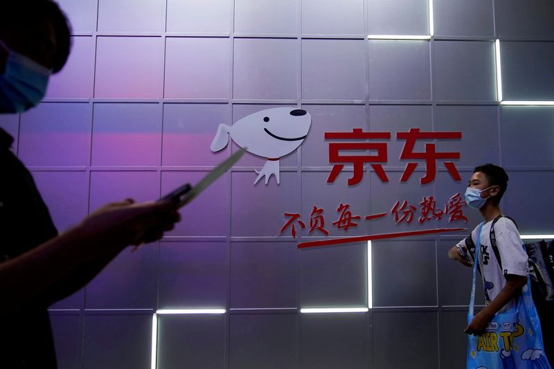 China's JD.com withdraws sale of unapproved gaming titles -state media