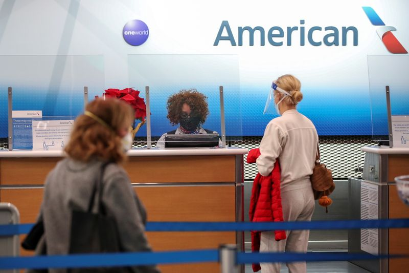 American Airlines to end pandemic leave for unvaccinated staff