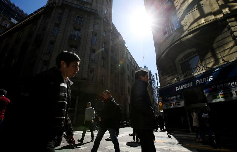 Argentina 2021 economic growth forecast raised to 7.2% - central bank survey