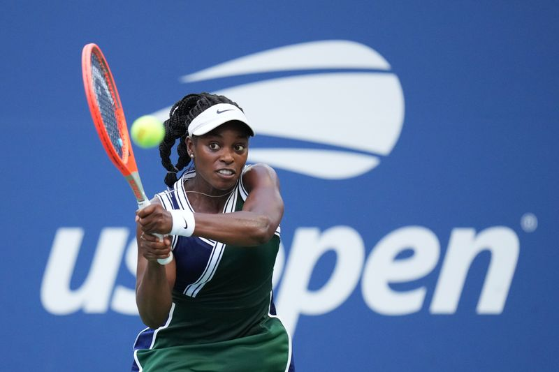 Tennis-Stephens suffers abuse on social media after U.S. Open loss
